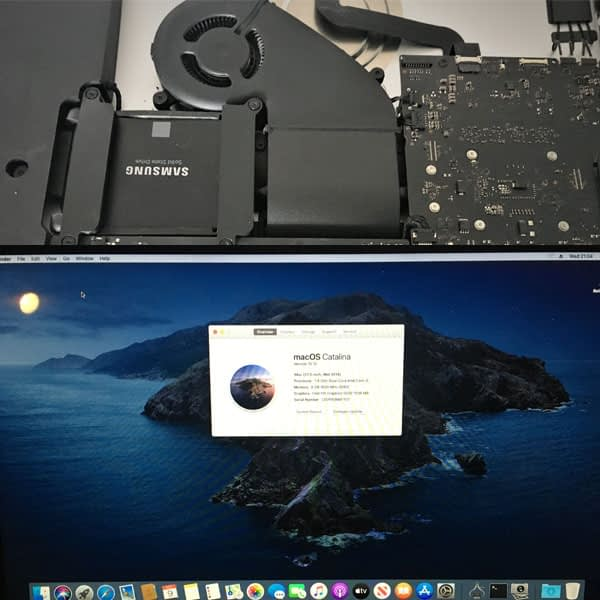 iMac SSD Upgrade & Catalina Upgrade