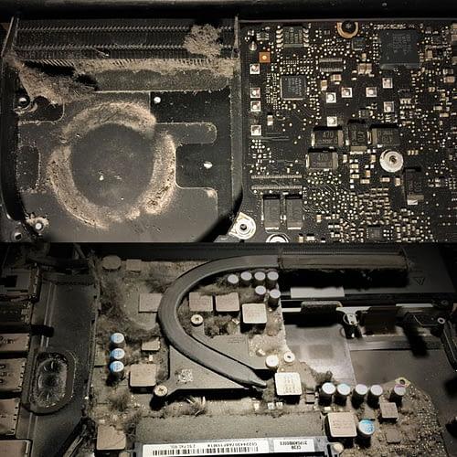 MacBook Mid 2012 Hard drive repair & Clean